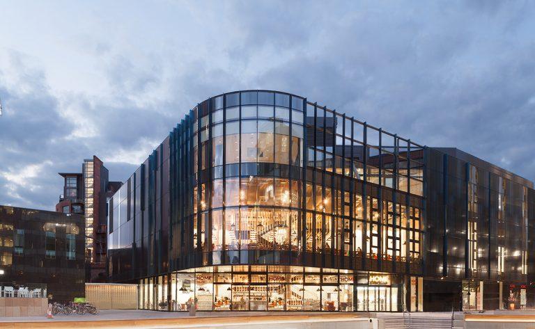 Exterior HOME Theatre Arts Centre Manchester Oxford Road Corridor