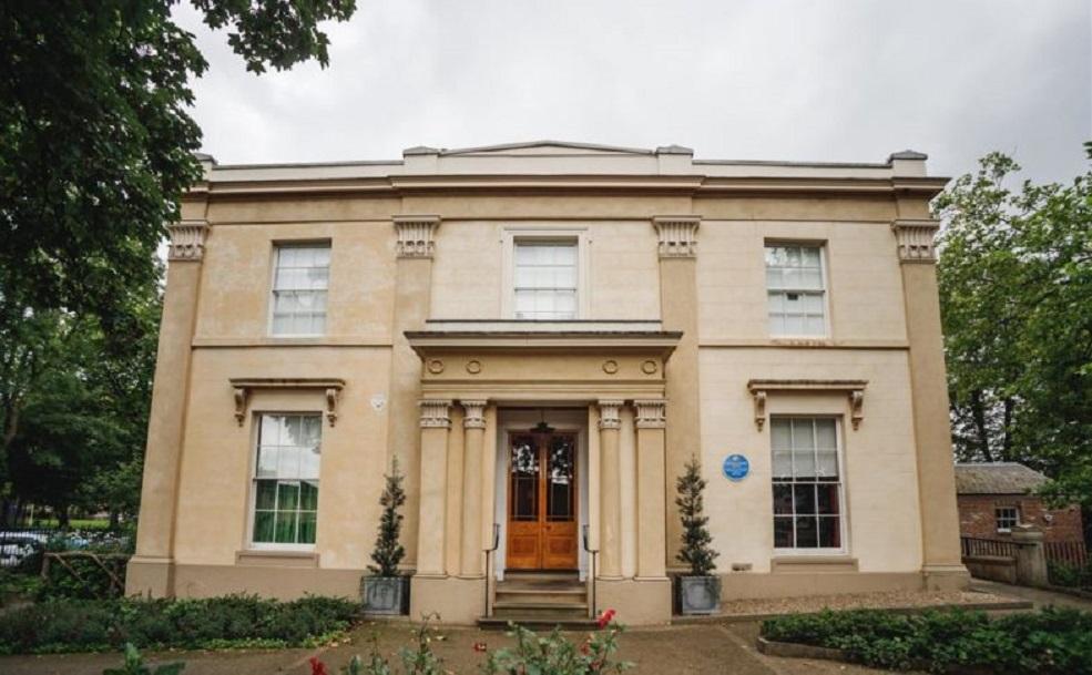 External shot of Elizabeth Gaskell's House