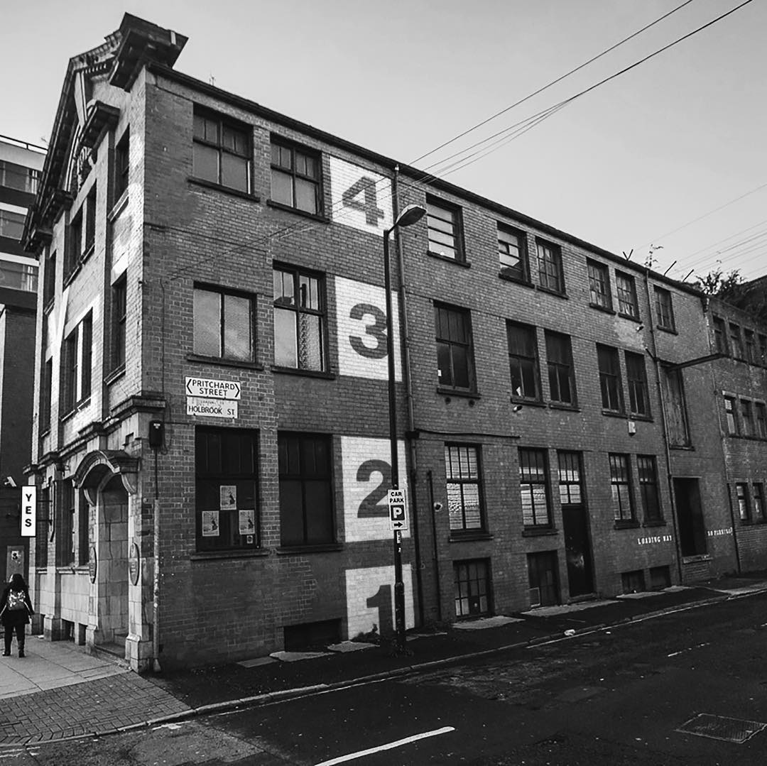 Exterior of YES music venue in Manchester