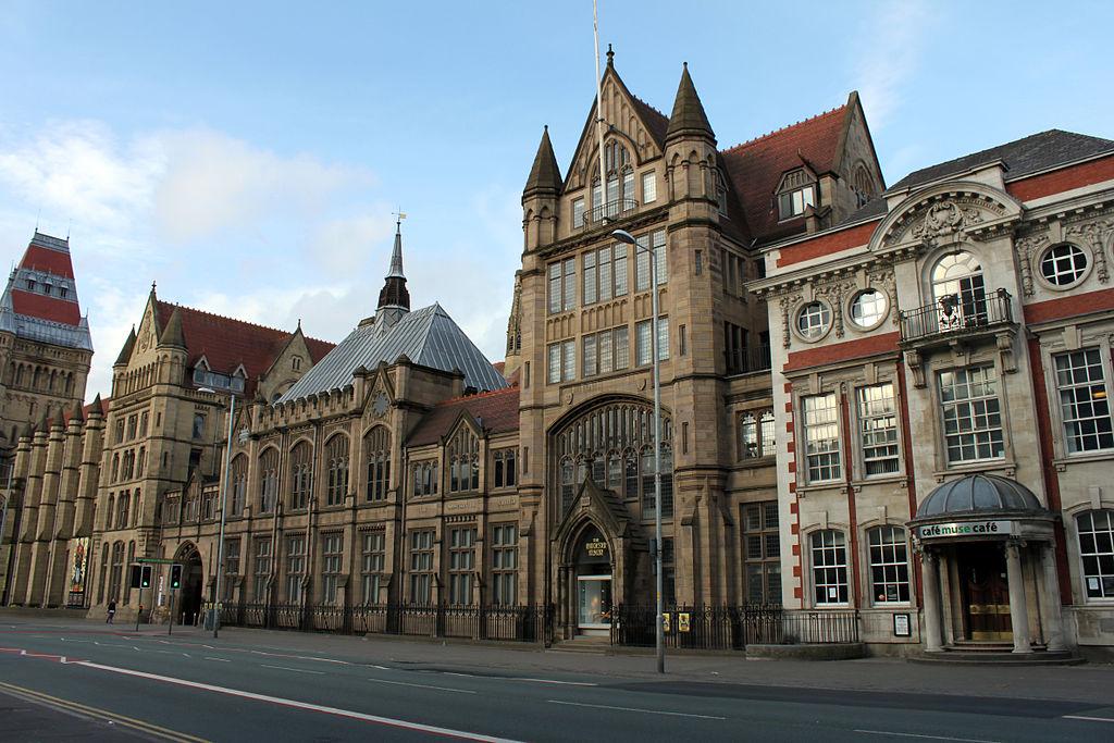 External shot of the Manchester Museum