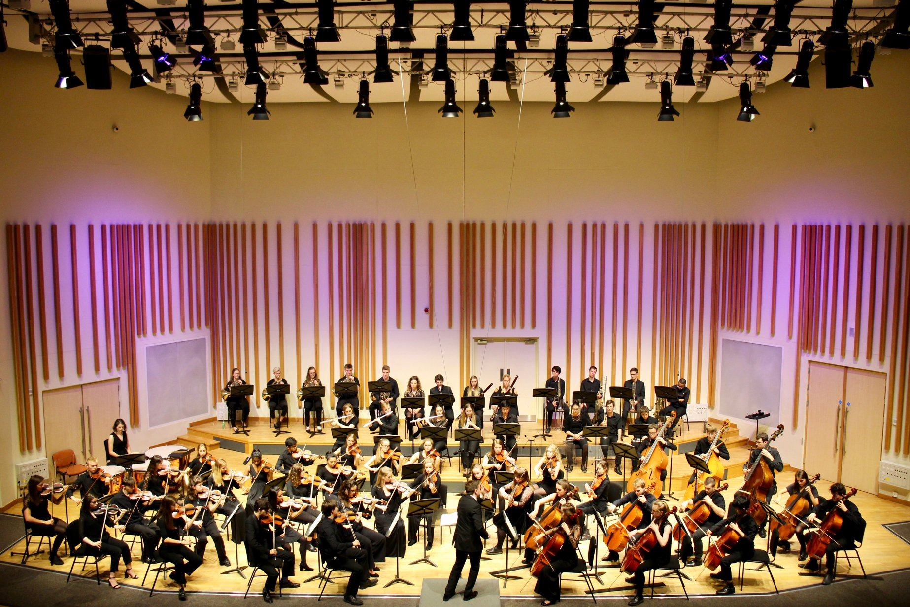 A concert at the Martin Harris Centre
