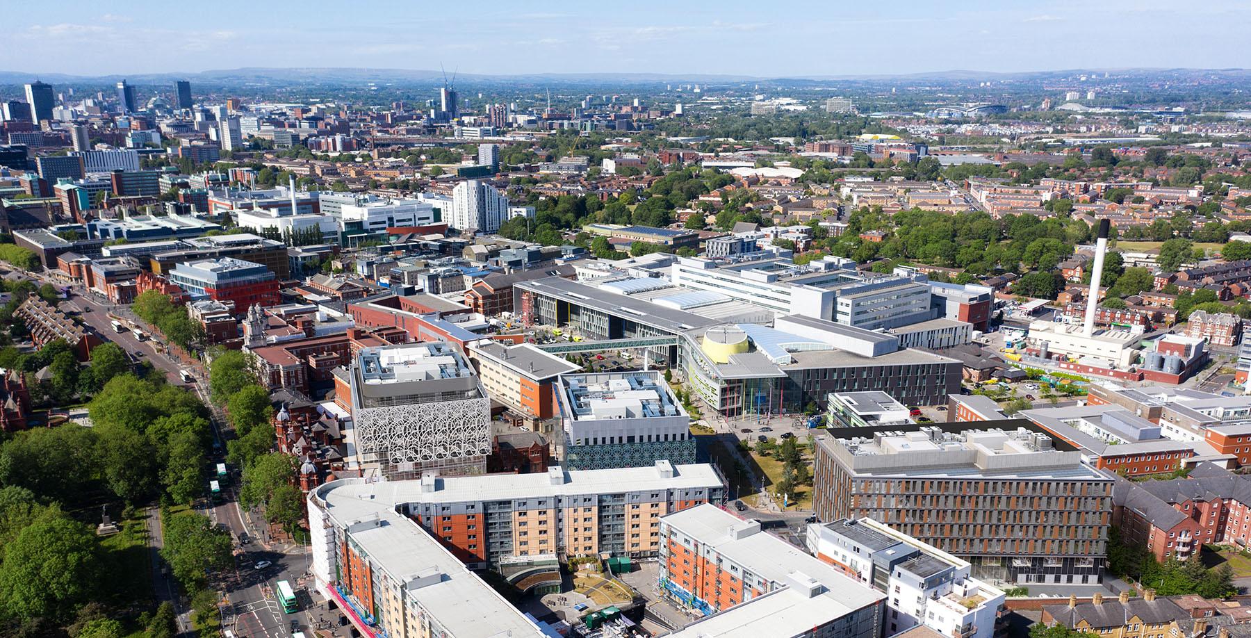 A CGI of the CityLabs masterplan
