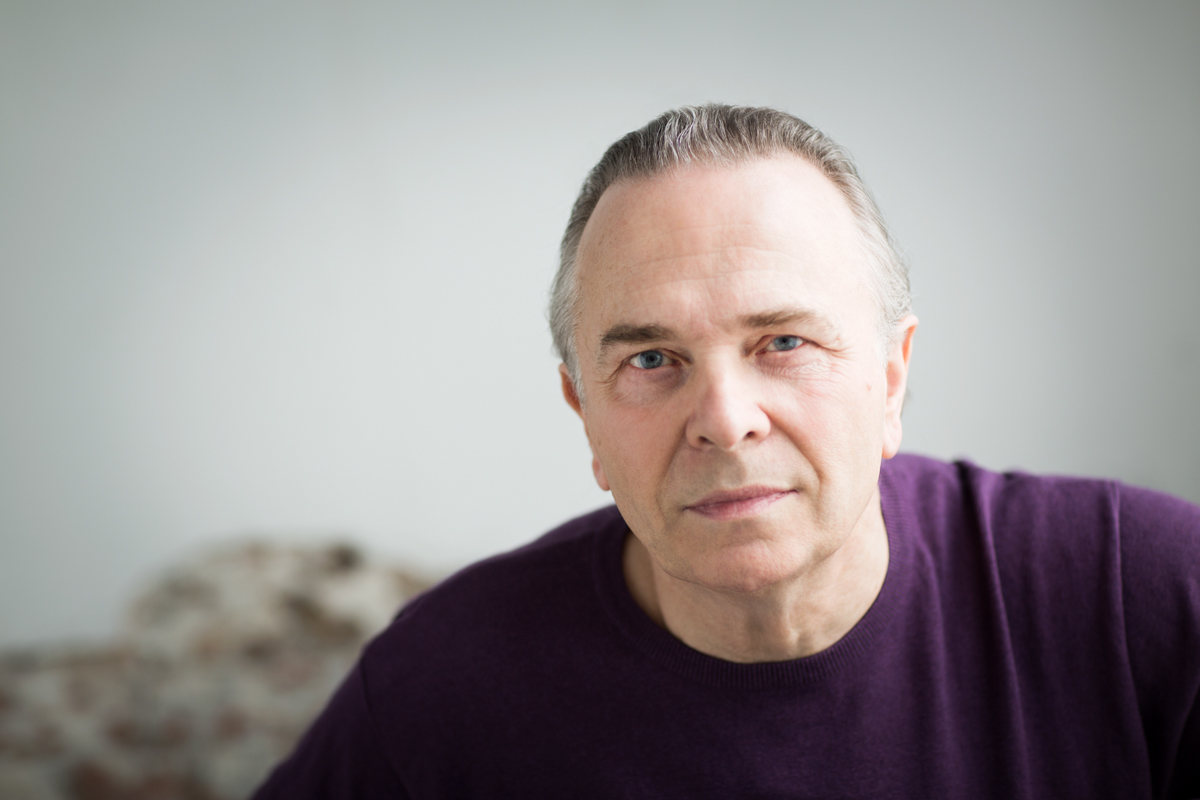 A portait of Sir Mark Elder who conducts The Hallé - Elgar's Enigma Variations