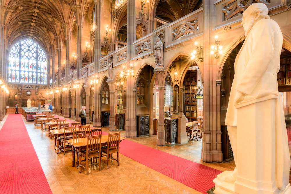 An image of John Rylands, one of the venues from this year's Festival of Libraries