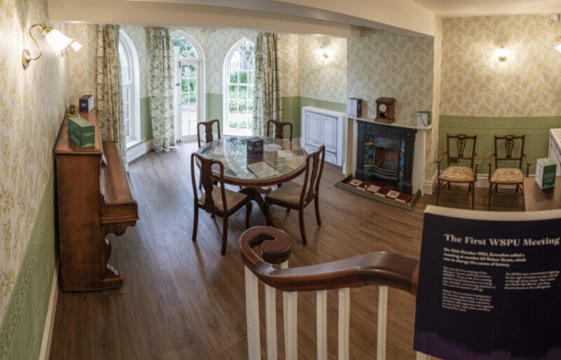 At Home with the Pankhurst Family at the Pankhurst Centre - parlour 1
